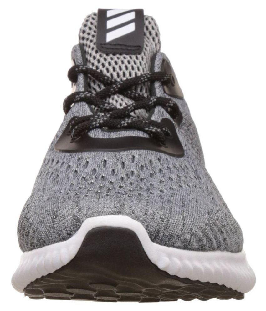 c0f9085e12bb2 Adidas Alphabounce Em M Gray Running Shoes - Buy Adidas Alphabounce ...