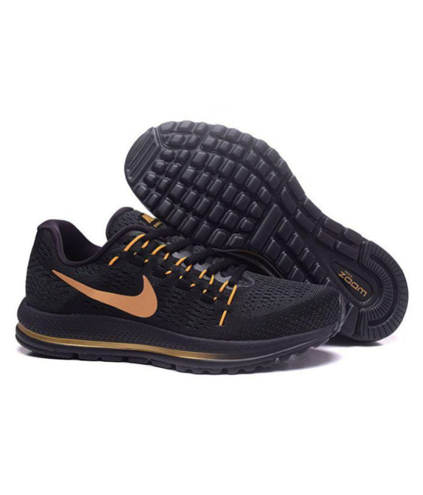 the latest aadae ae2ce Nike Air Zoom Vomero 12 Black Running Shoes