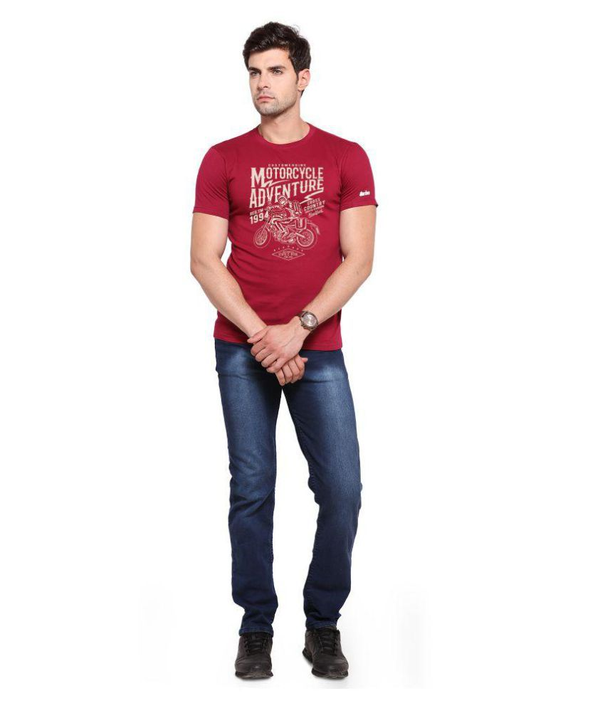 Zorchee Red Round T-Shirt