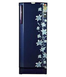 Godrej 240 Ltr 3 Star RD Edge Pro 240 CT 3.2 Single Door Refrigerator - Blue