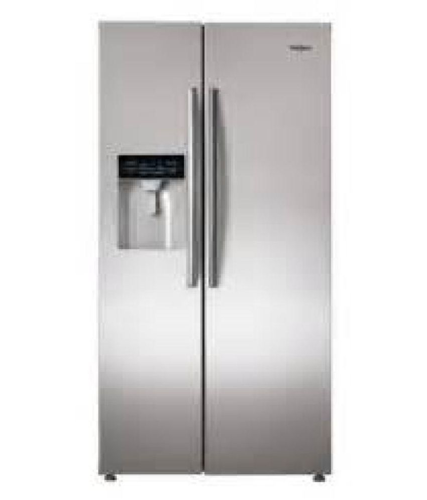 Whirlpool 568 Ltr No Star STEEL SBS 600 Side-By-Side Refrigerator...