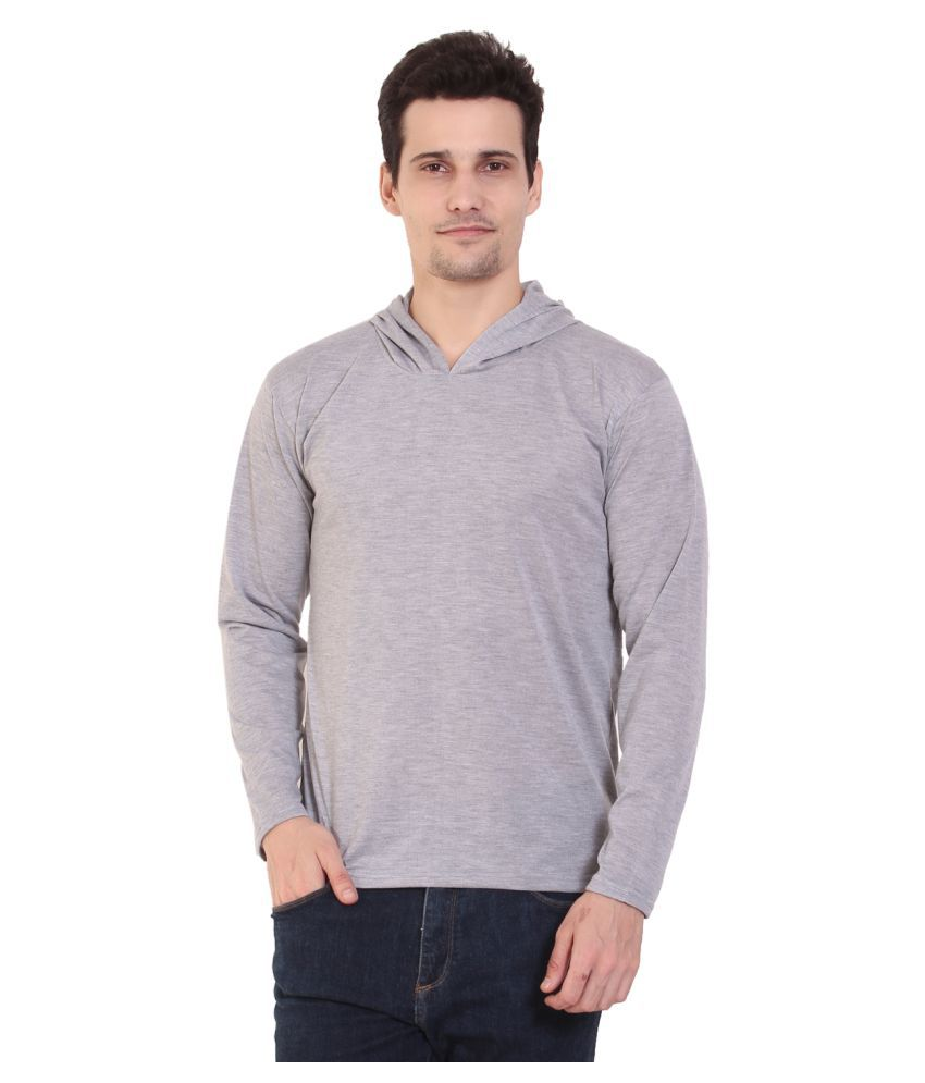 COFAGIF Grey Hooded T-Shirt