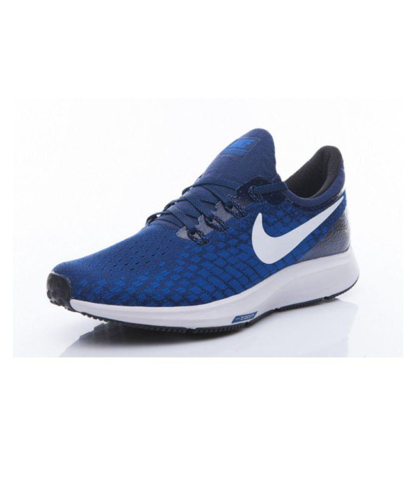 a0e72a07b46d Nike AIR ZOOM PEGASUS 35 Blue Running Shoes - Buy Nike AIR ZOOM PEGASUS 35  Blue Running Shoes Online at Best Prices in India on Snapdeal
