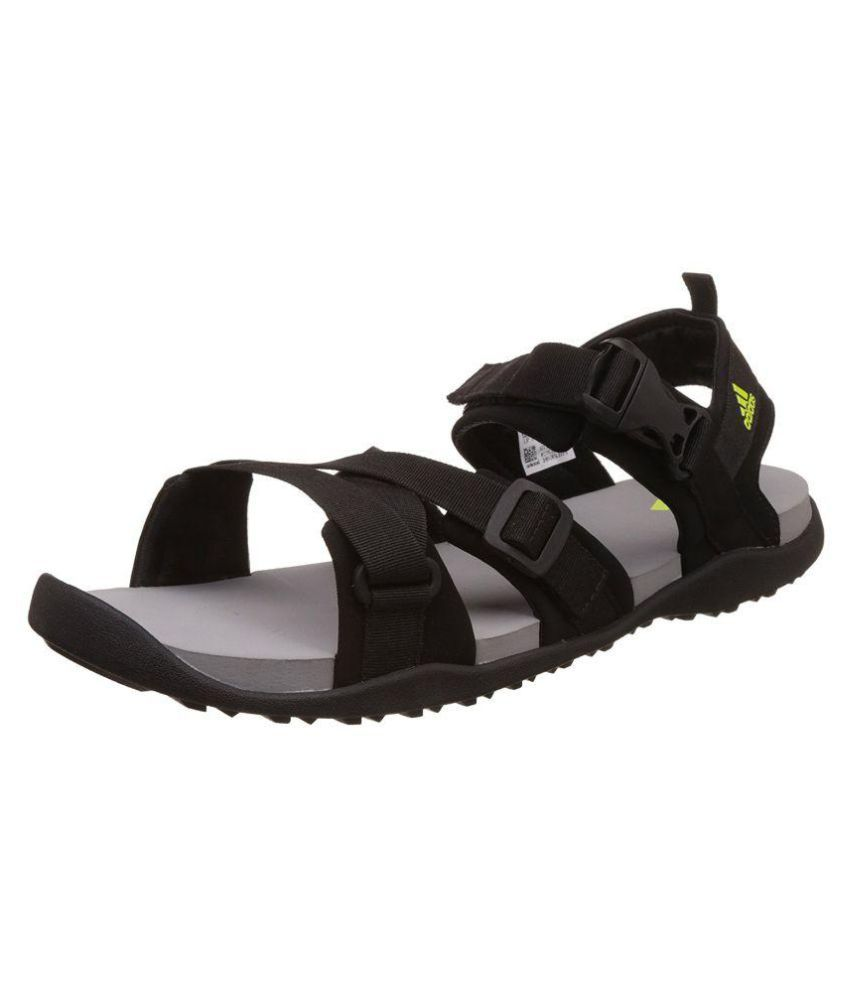 78c9de81d2a9 Adidas Gladi Syello Silvmt C Black Floater Sandals - Buy Adidas Gladi  Syello Silvmt C Black Floater Sandals Online at Best Prices in India on  Snapdeal