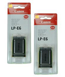 Canon LP-E6 1800 Rechargeable Battery 2
