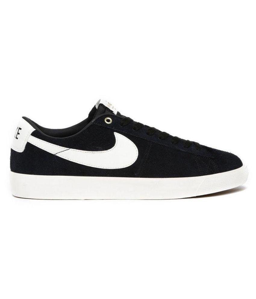 watch babde 8d281 ... Nike Blazer Low GT QS Sneakers Black Casual Shoes ...