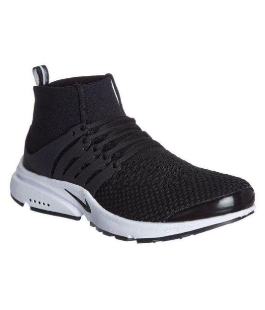 new product deb89 a0d4f Nike Air Presto Black Running Shoes - Buy Nike Air Presto Black Running  Shoes Online at Best Prices in India on Snapdeal