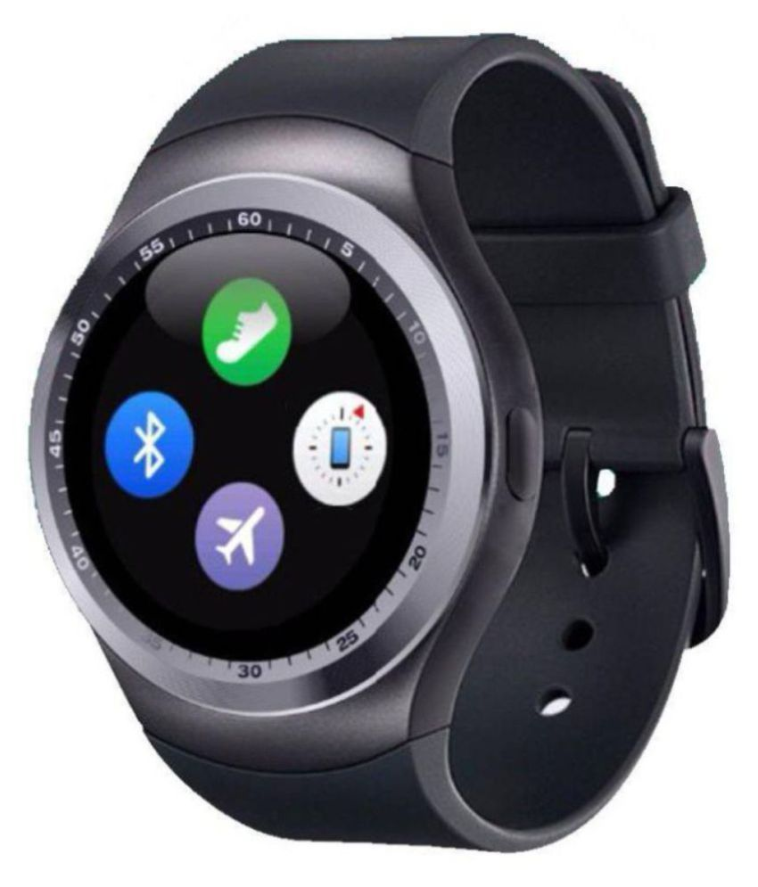 M-STARK Y1 Smartwatch suitable  for L Fino Smart Watches