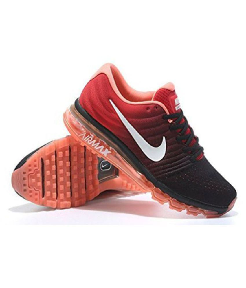... nike airmax 2017 orange running shoes buy nike airmax 2017 orange  running shoes online at best