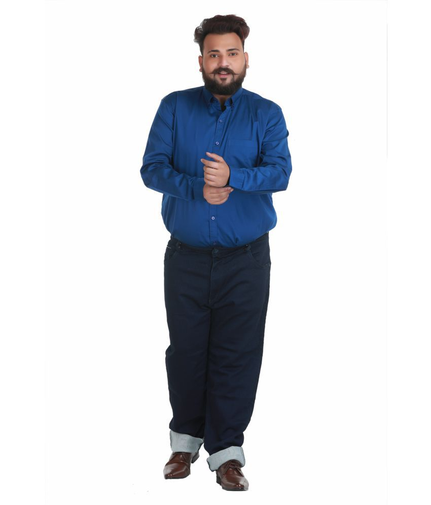 Xmex Blue Regular Fit Jeans