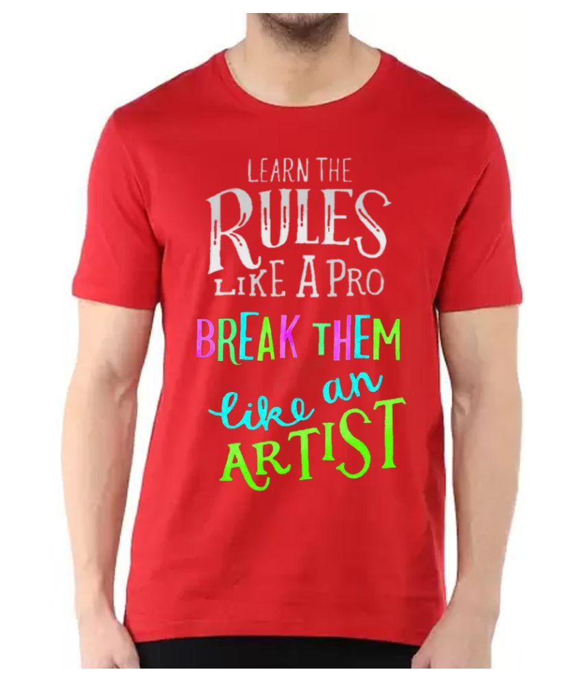 BBK Red Round T-Shirt
