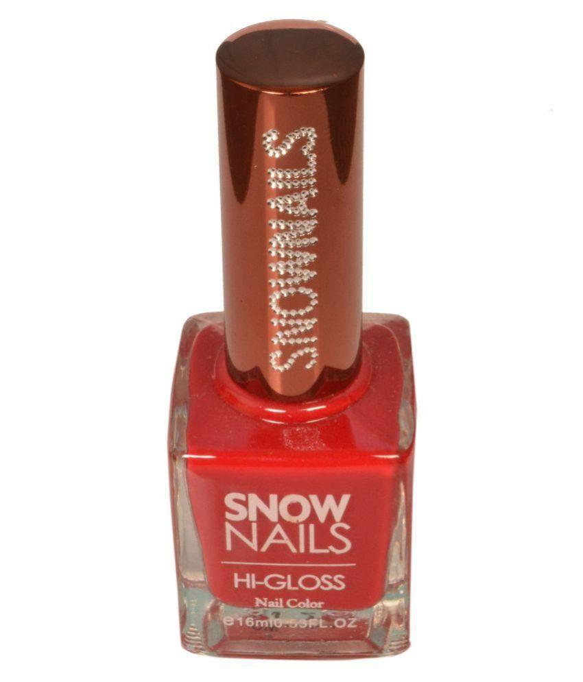 Snownails Snow Color Nail Polish SN27 Rose Glossy 16 ml