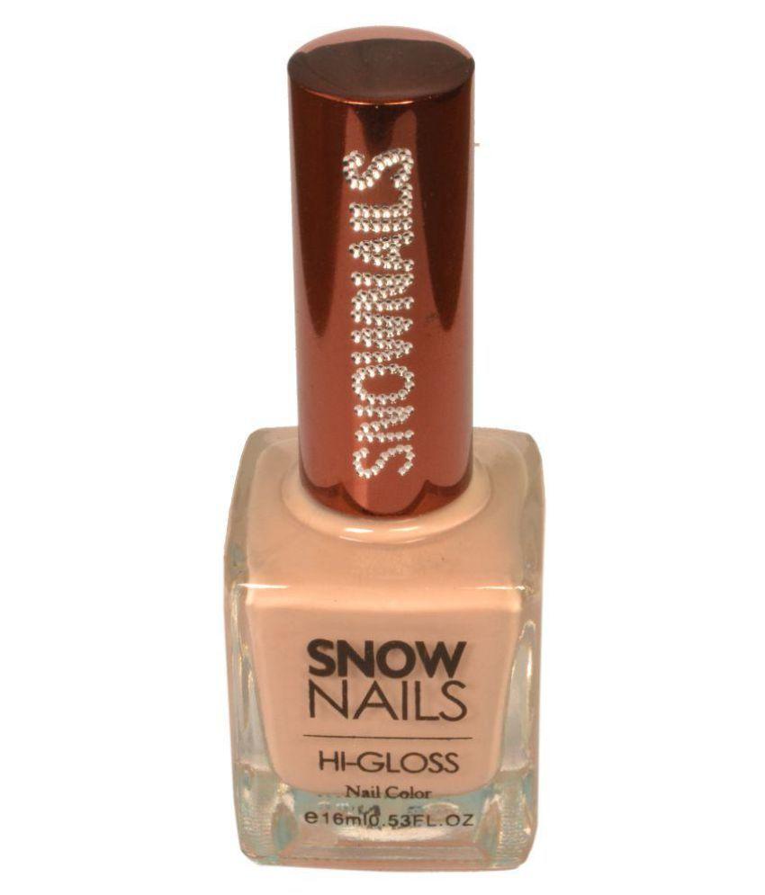 Snownails Snow Color Nail Polish SN31 Dust Rust Glossy 16 ml