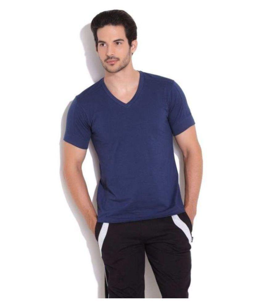 Levi's Blue V-Neck T-Shirt