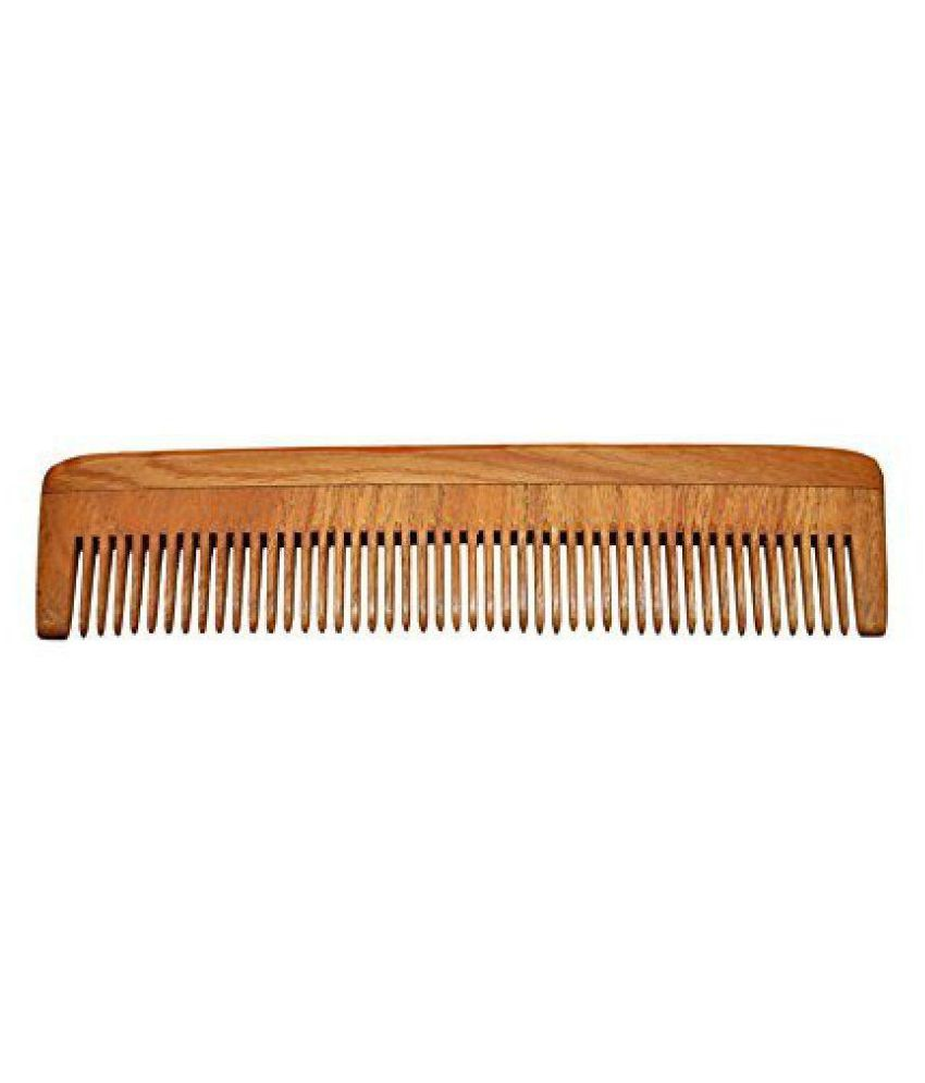 Majik World Sisam wooden hair comb Wide tooth Comb