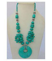 Foot Planet Multicolor Stone Artificial Women's Necklace