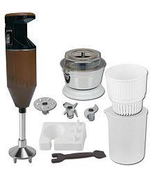 Xccess Metallic Coffee 300 Watt Hand Blender