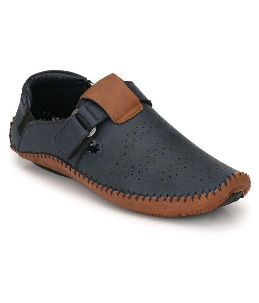 ee2e8434 Big Fox Men's Blue Roman Sandal Blue Sandals Price in India- Buy Big Fox  Men's Blue Roman Sandal Blue Sandals Online at Snapdeal