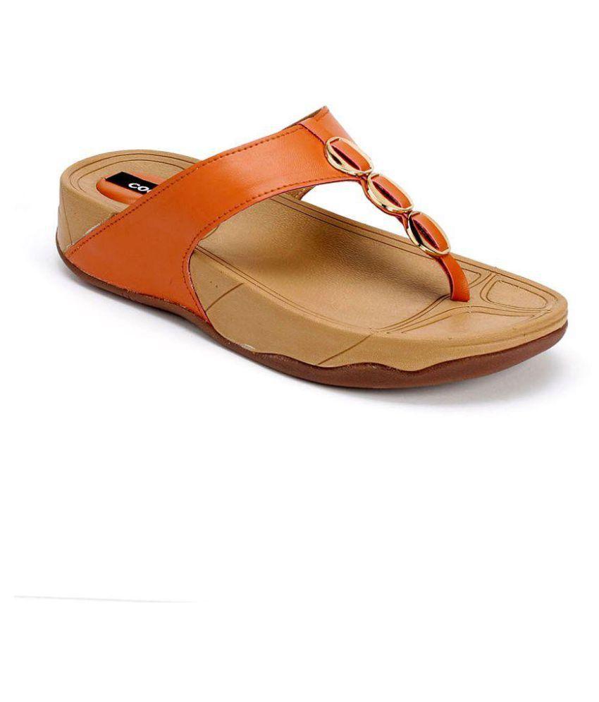 Cocoon Red Wedges Heels