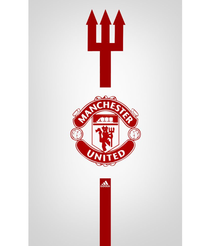 mahalaxmi art craft manchester united sports canvas wall poster