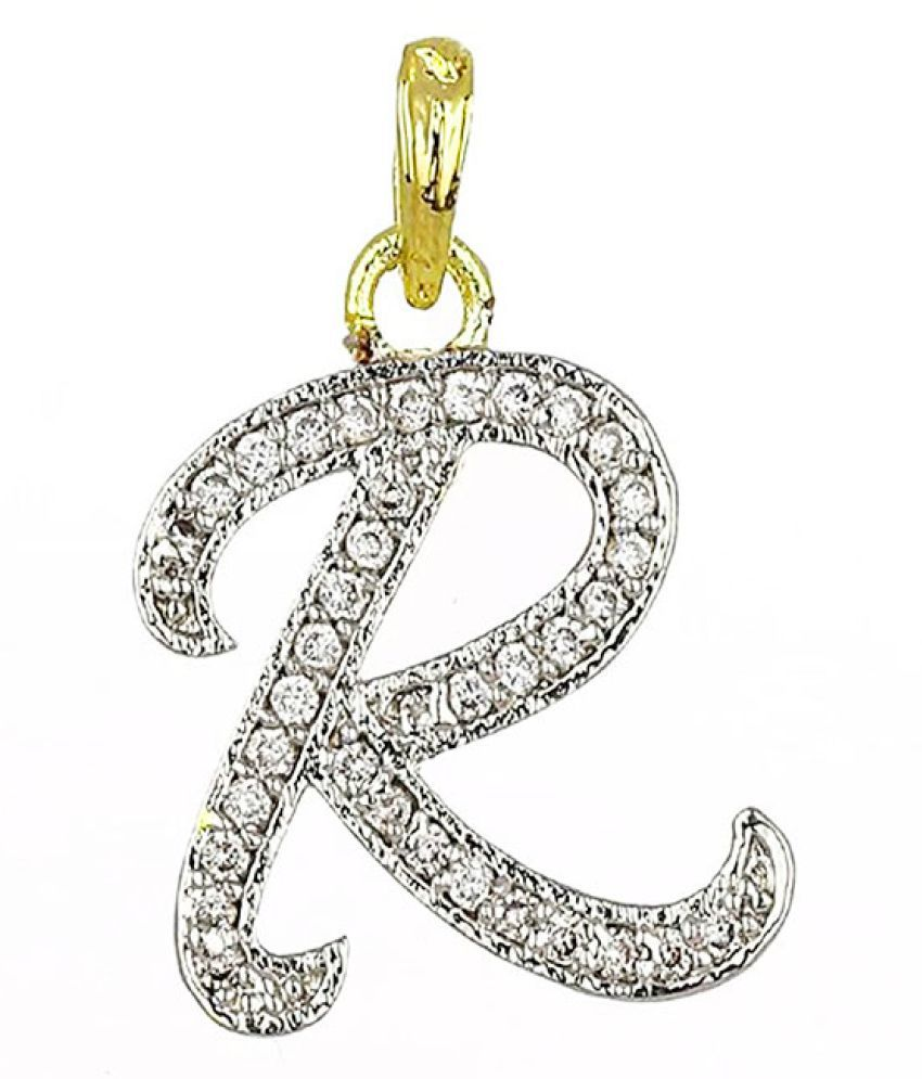 Bandish american diamond name initial letter r unisex pendant buy bandish american diamond name initial letter r unisex pendant thecheapjerseys Gallery