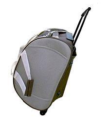American-Elm Brown Solid Duffle Bag