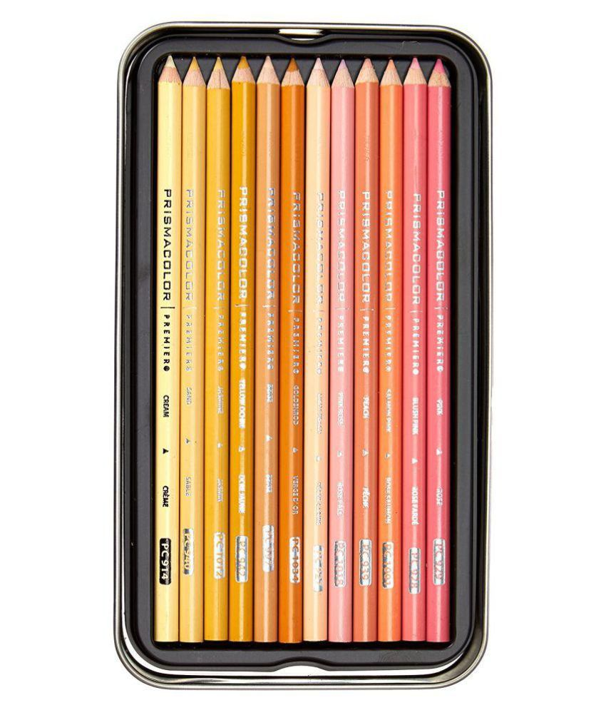 prismacolor premier colored pencils portrait set soft core 24