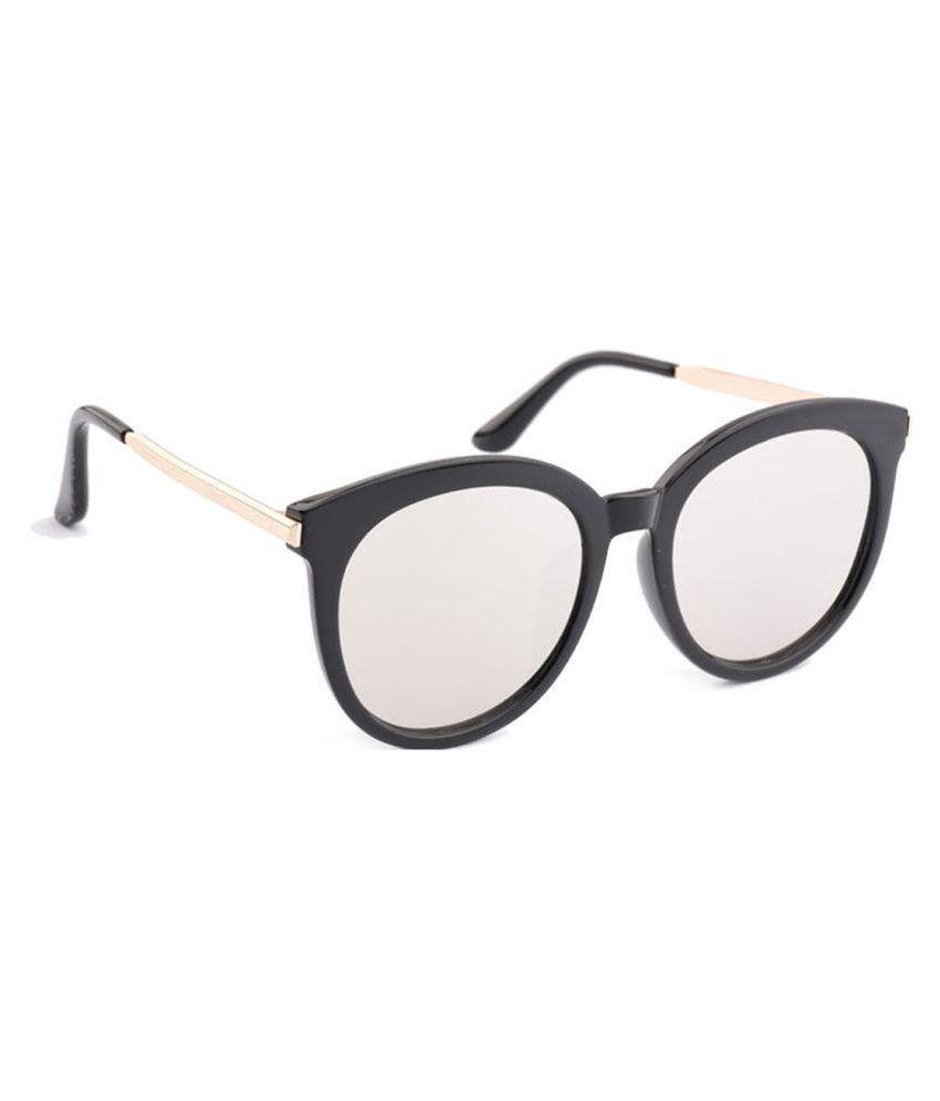 RazMaz Silver Cat Eye Sunglasses ( RZ2131 )