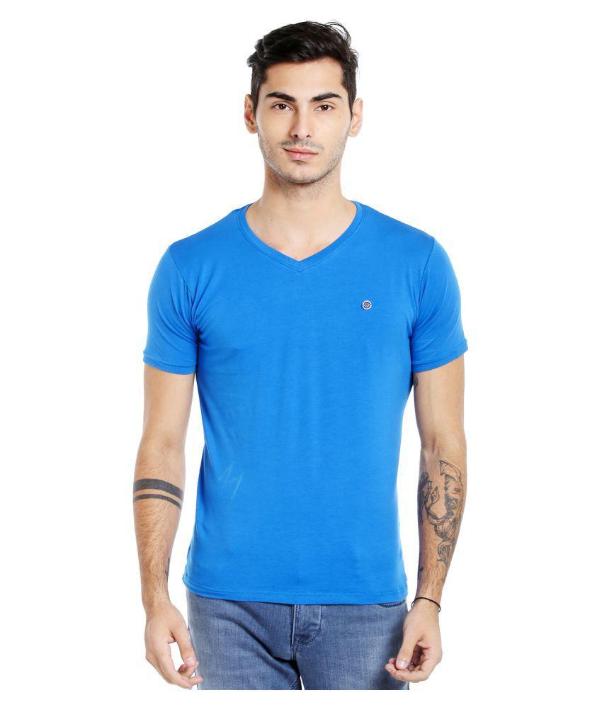 INTEGRITI Blue V-Neck T-Shirt