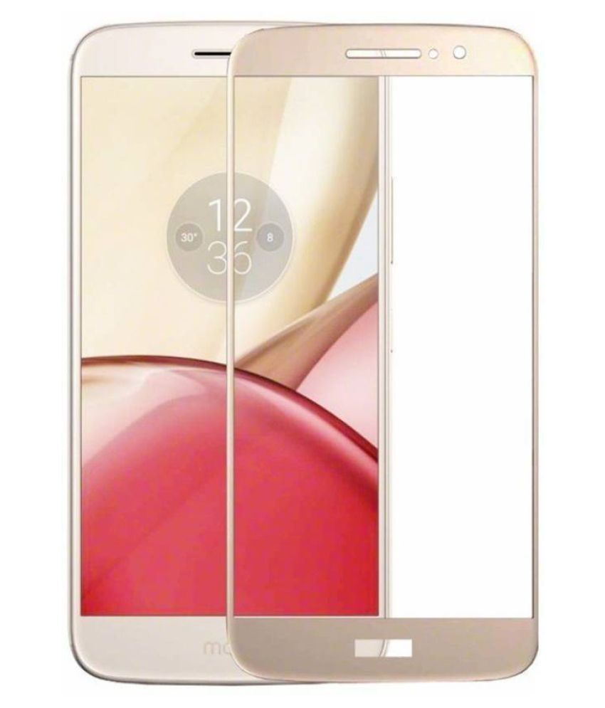 Motorola Moto M Tempered Glass Screen Guard By Robux 4D