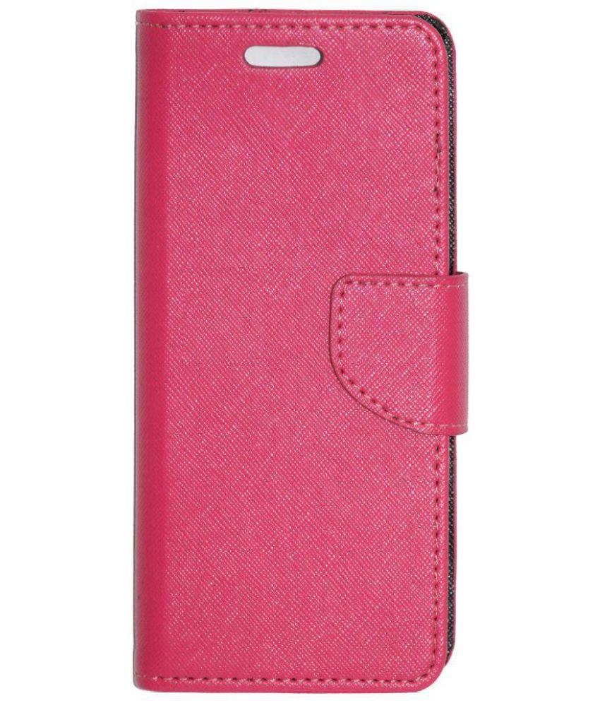 hot sale online 0229f 994c8 Xolo Era 1X Pro Flip Cover by Gizmofreaks - Pink
