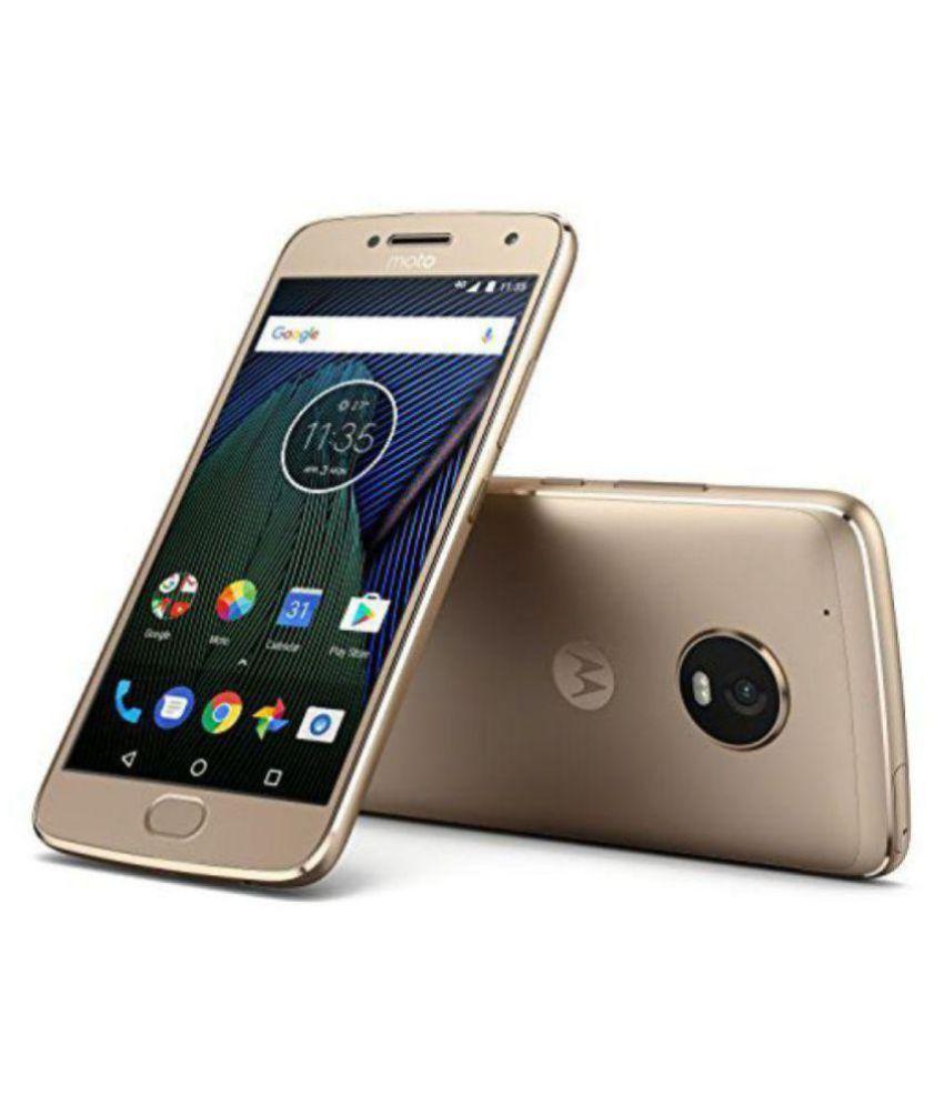 74e5fa3e5d Motorola Gold G5 Plus 32GB Mobile Phones Online at Low Prices ...