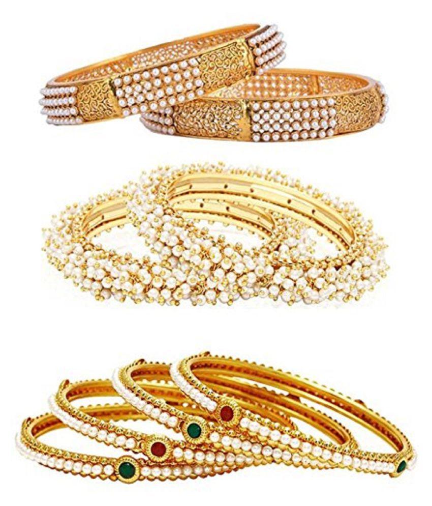 DS Multicolur Party wear Kangan Kada Bracelet Bangles Combo for women and girls(DS111)