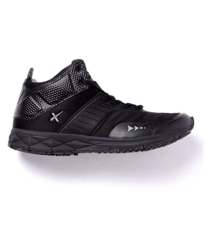 HRX Sneakers Black Casual Shoes - Buy HRX Sneakers Black ...
