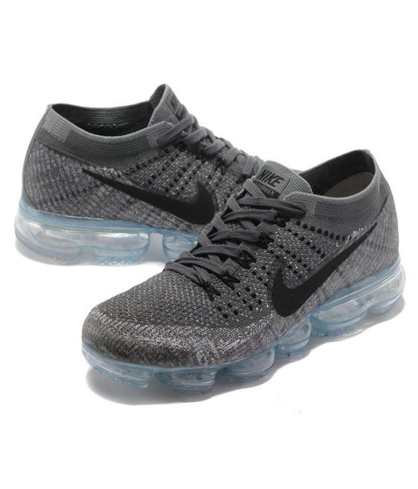 Nike Vapormax Ultra Flyknit Gray Running Shoes - Buy Nike Vapormax ... 7ba2fffce
