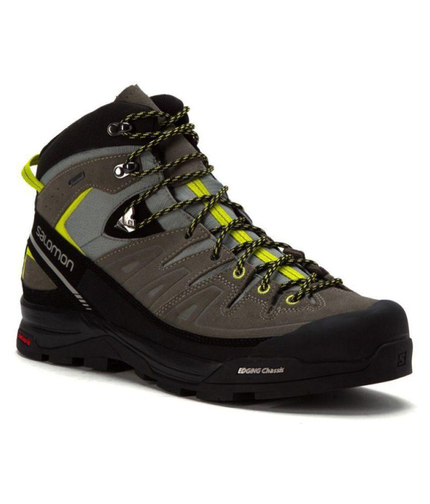 d77518b1842 Salomon X ALP MID LTR GTX Gray Hiking Shoes