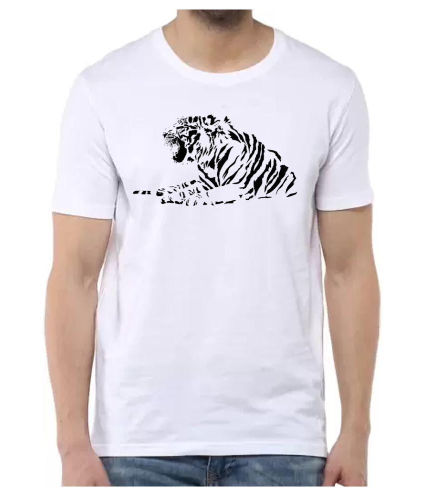 BBK White Round T-Shirt Pack of 1