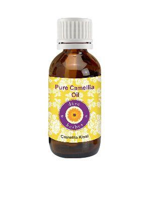 Deve Herbes Pure Camellia (Camellia kissi) Carrier Oil 30 ml