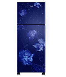 Whirlpool 245 Ltr 2 Star Fr258 Roy 2S Sapphire Regalia Double Door Refrigerator - Blue