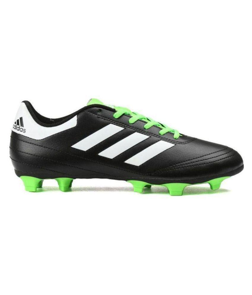 7a6ac4d4a Adidas Goletto VI Black Football Shoes Adidas Goletto VI Black Football  Shoes ...