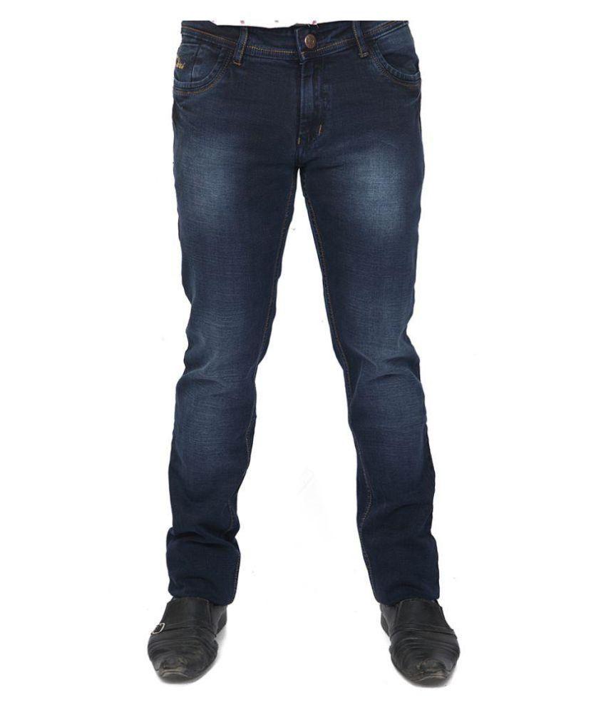 Hasasi Denim Blue Regular Fit Jeans