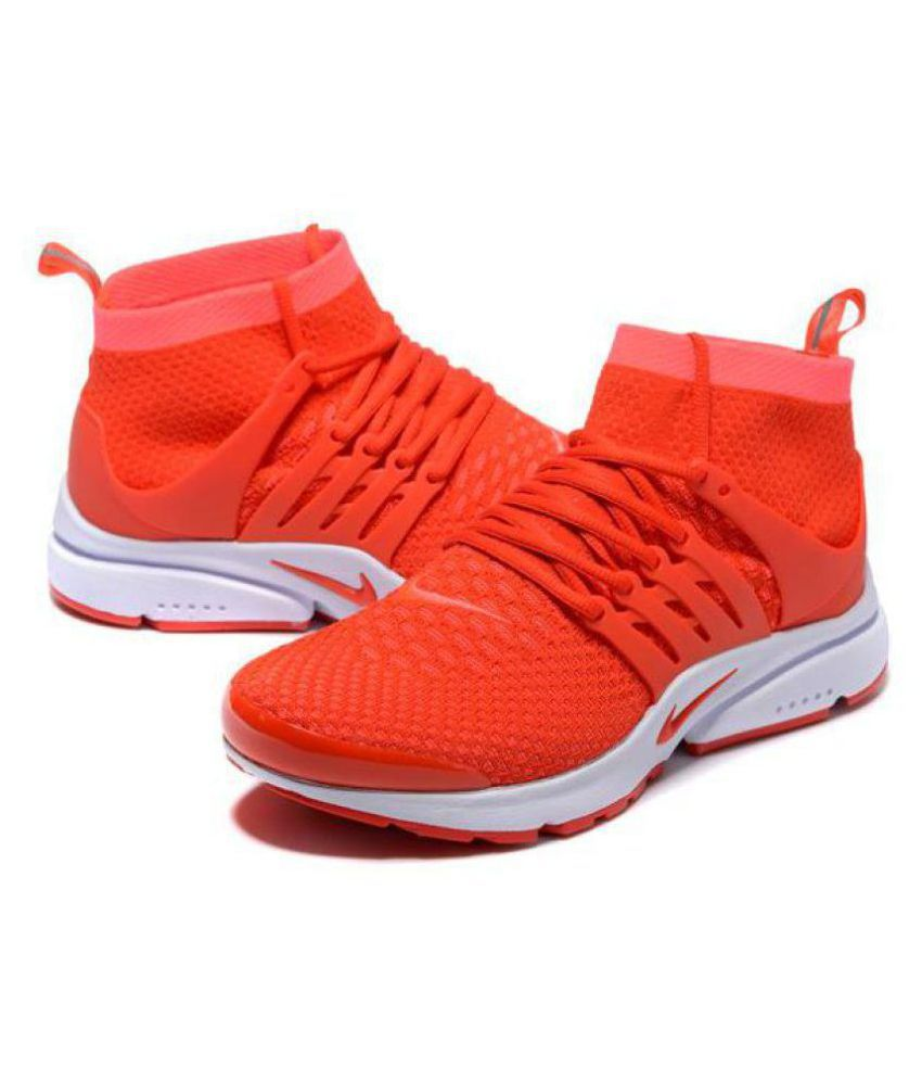86678228a2d Nike Air Presto Ultra Flyknit Red Running Shoes - Buy Nike Air ...