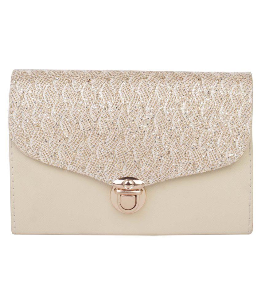 ROVEC Silver Fabric Sling Bag