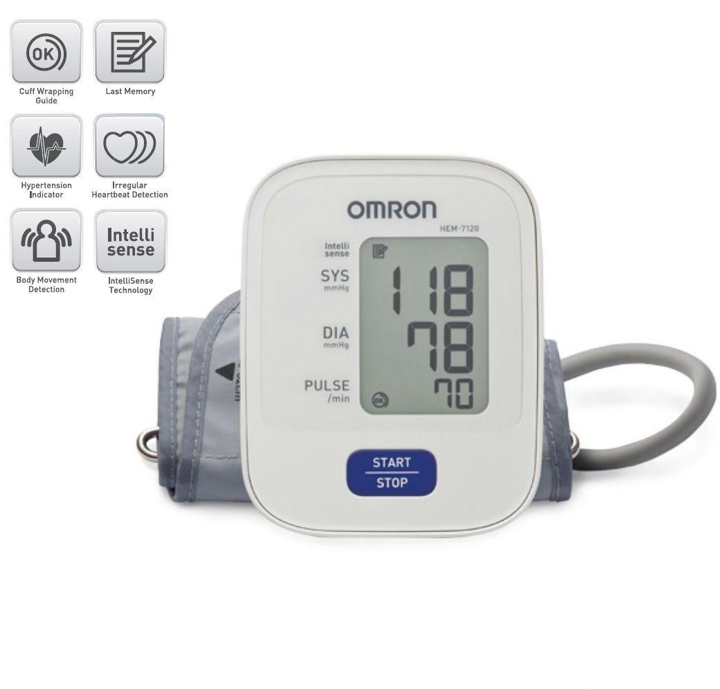 Omron Hem 7120 Automatic Blood Pressure Monitor Buy Omron Hem 7120