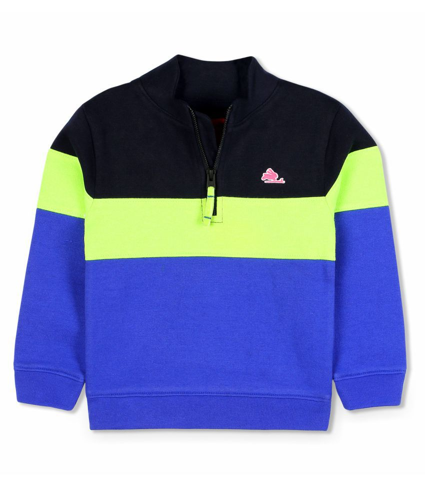 Cherry Crumble Sporty Half-Zip Sweatshirt