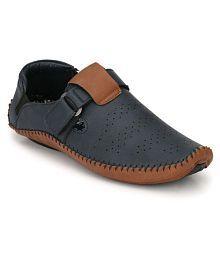 Big Fox Men's Roman Blue Sandals