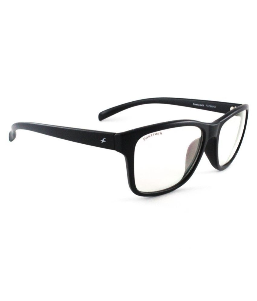Fastrack Clear Rectangle Sunglasses ( P379WH3 )