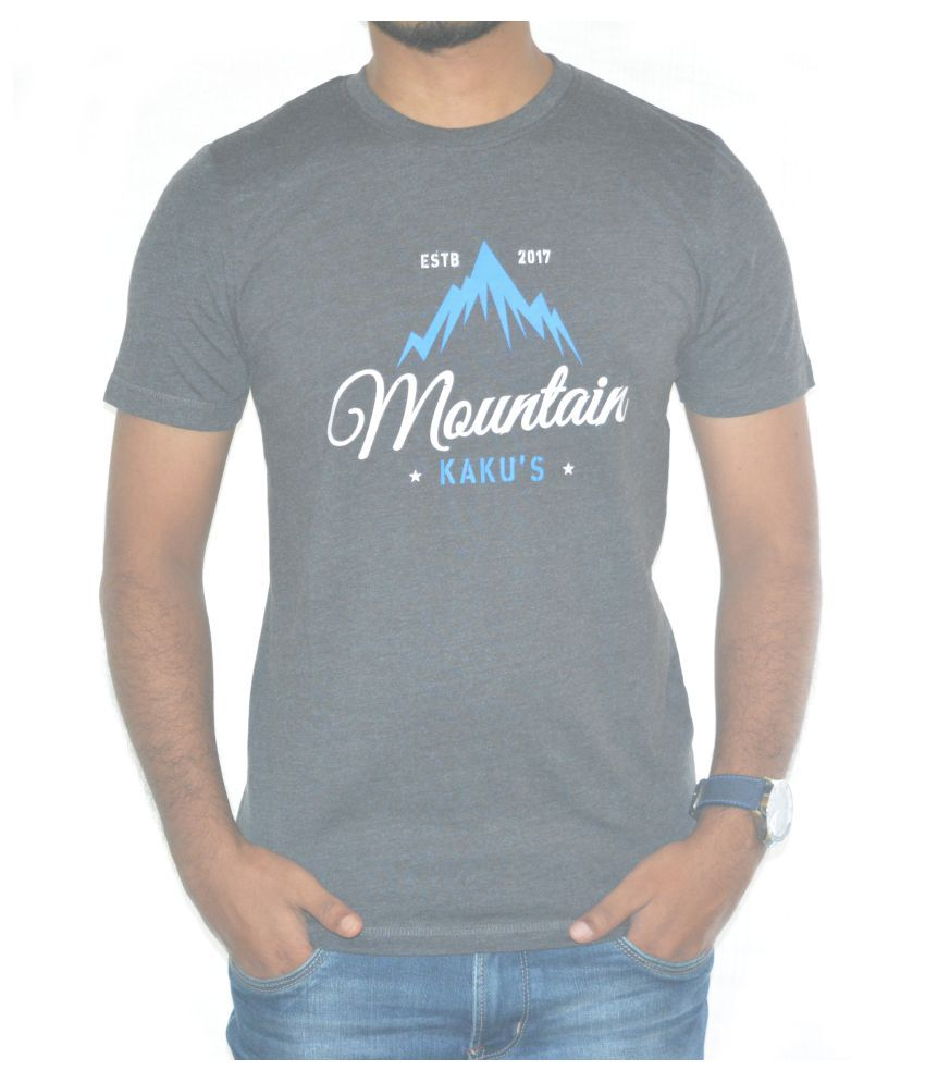 Kakus Collection Grey Round T-Shirt
