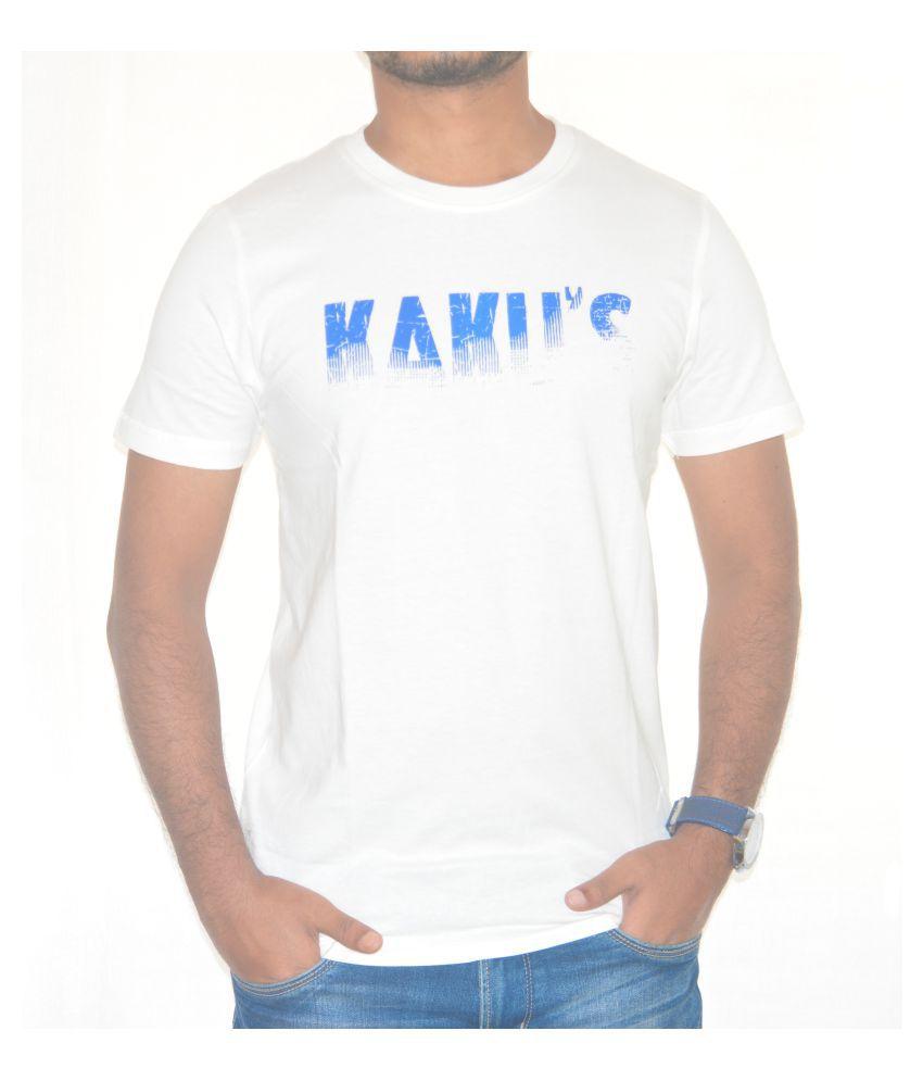Kakus Collection White Round T-Shirt