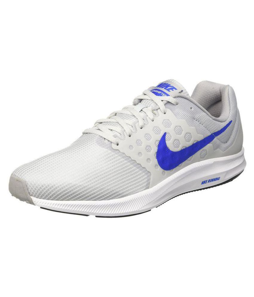 Nike Downshifter 7 Gray Running Shoes - Buy Nike Downshifter 7 Gray Running  Shoes Online at Best Prices in India on Snapdeal 80090c0882b